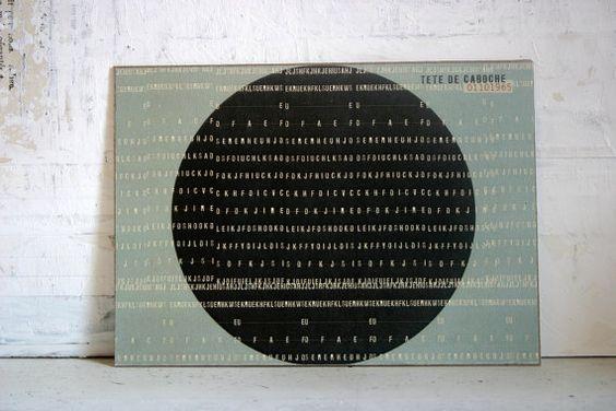 estampe numérique / impression au laser par tetedecaboche1965, $5,00