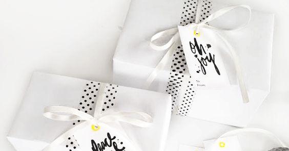 Maiko Nagao: Free: Holiday gift tags by Maiko Nagao