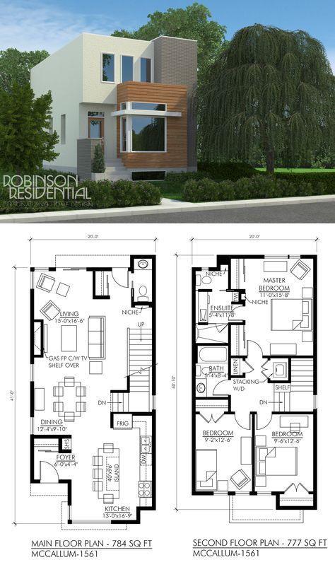 Planos De Casas De Dos Pisos Sencillas 4 Jpg 474 819 House Plans Modern House Plans Dream House Plans