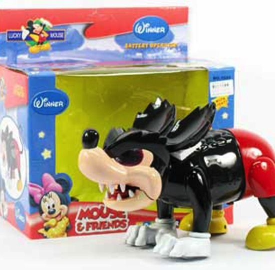 Mouse & Friends.  Horrifying.
