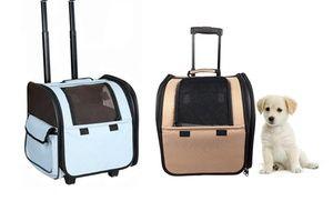 Groupon - Wheeled Travel Pet Carrier. Groupon deal price: $42.99