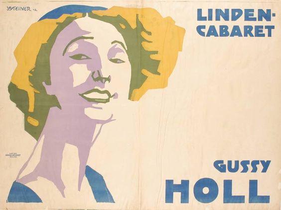 FB / Titel: Linden Cabaret (Kurztitel) Entstehung / Datierung: Steiner, Josef, Entwurf Kunst-Anst. Arnold Weylandt Berlin SO, Druckerei, Berlin, 1912