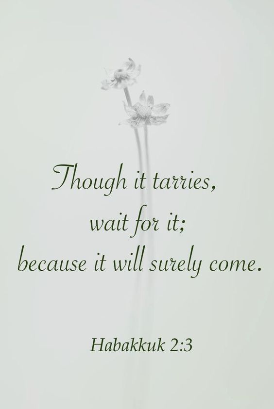 Habakkuk 2:3b