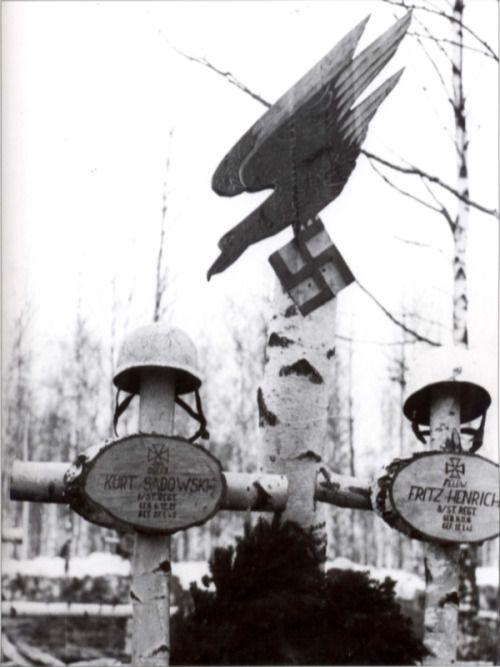 Нацистские орлы не выживают среди русских берез