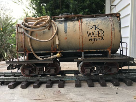 tank car with lettering