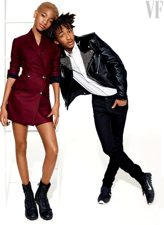 The Next Wave: Jaden and Willow Smith | July 2014 - I'm actually very impressed with these two kids. So unapologetically themselves. Realness in Hollywood is rare.