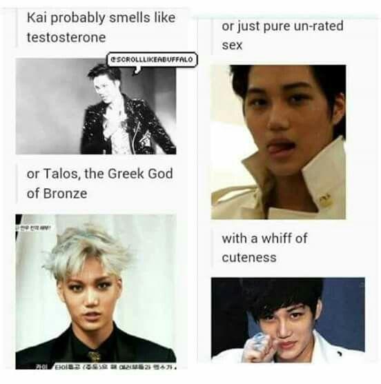 What Exo smells like - Kai
