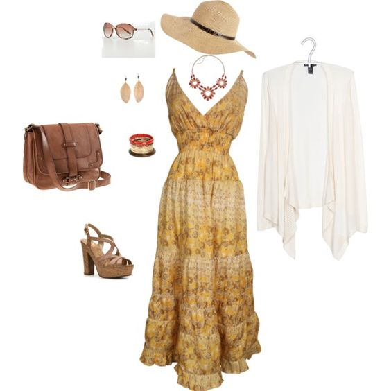 "For the ""Hippy"" Hippie. A little plus size boho for this summer."
