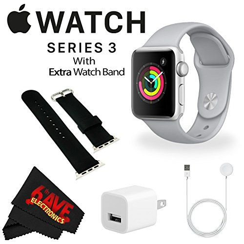 6ave Apple Watch Series 3 42mm Smartwatch Gps Only Silver