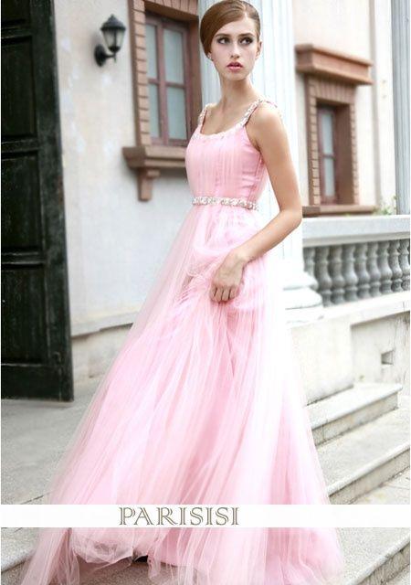 Kleid von Aschera in den Netzwerk-Modell Aline Perlen