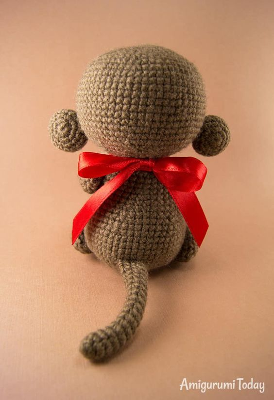 How to crochet lovely Monkey - YouTube | 825x564