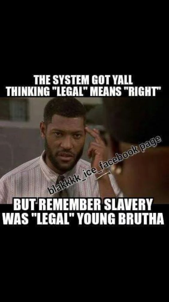 Facts!!! The law only bends one way, how convenient