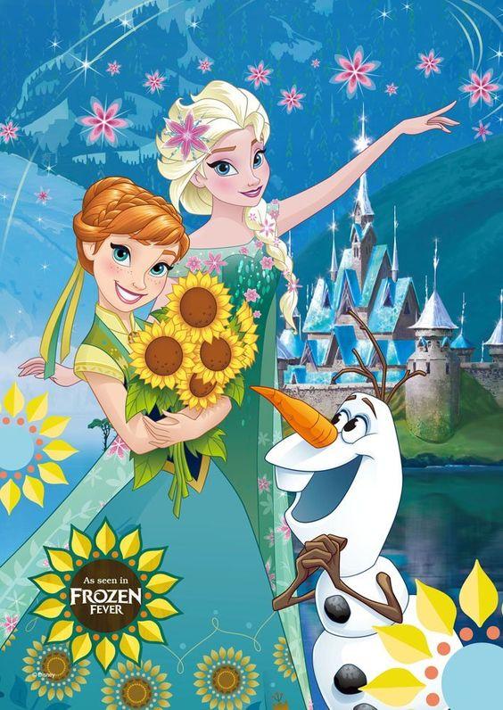 可愛いアナと雪の女王
