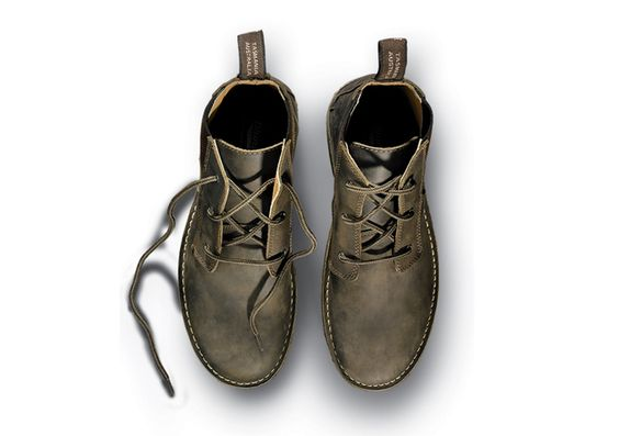 """""""Because their burly out-soles can handle just about any abuse—and because they look good enough to wear to fancy dinners— @Blundstone USA's slip-on boots have long been popular around the office. Now, with the 268, you get all that plus laces."""" @Outside Magazine's 2012 Holiday Gift Guide"""
