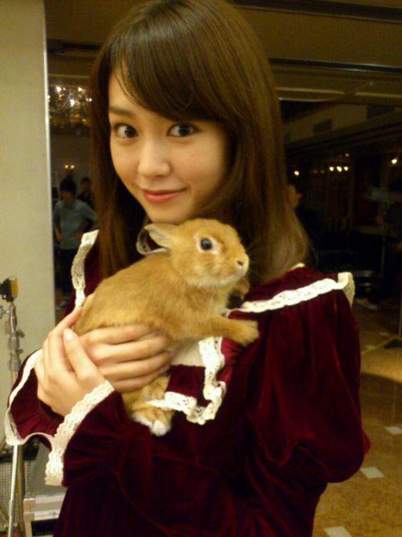 ウサギと桐谷美玲