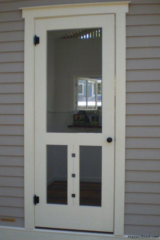 Wood Screen Door Screen Doors And Screens On Pinterest