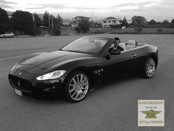 Maserati Grancabrio noleggiala per il tuo matrimonio di lusso