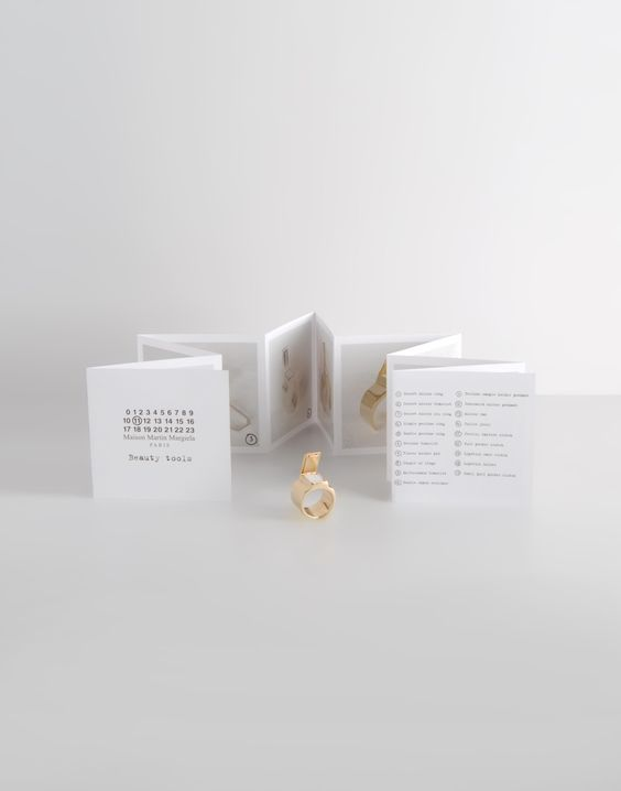 Ring Women - Jewelry Women on Maison Martin Margiela e-boutique - jewelry brochure