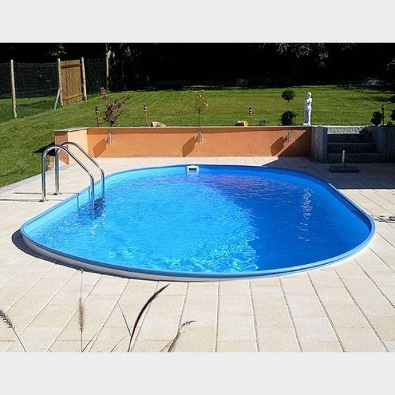Pools on pinterest for Stahlwandbecken pool