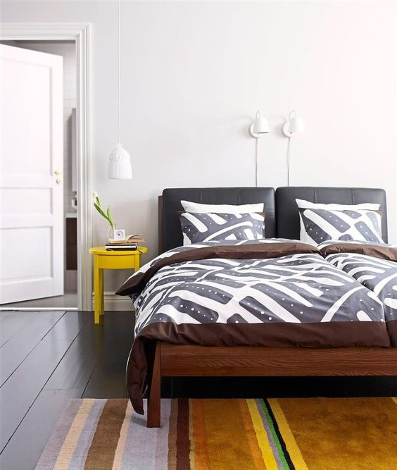 Yellow plays an important role in enhancing natural light to create a brightening effect.Photo:Ikea