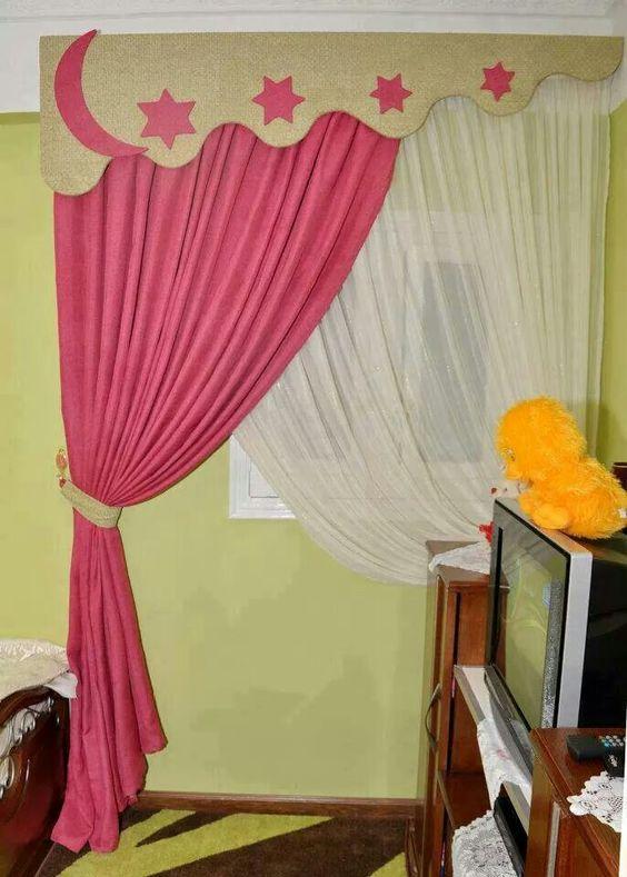 Cortina para habitaci n de adolescente sujetadores de for Catalogo de cortinas para sala