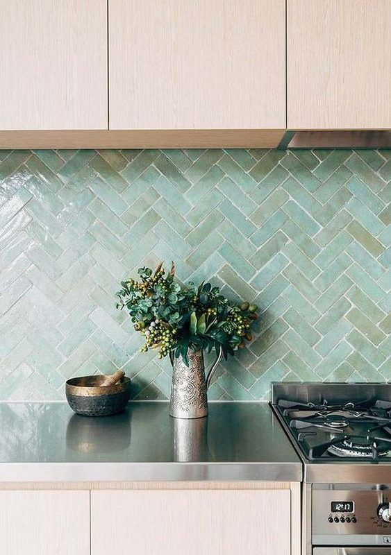 20 Most Inspiring Seaglass Kitchen Backsplash Ideas For A Chic