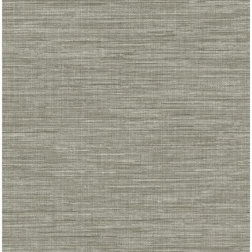 A Street Prints Solstice 56 4 Sq Ft Grey Non Woven Grasscloth Unpasted Wallpaper Lowes Com Grasscloth A Street Prints Grasscloth Wallpaper