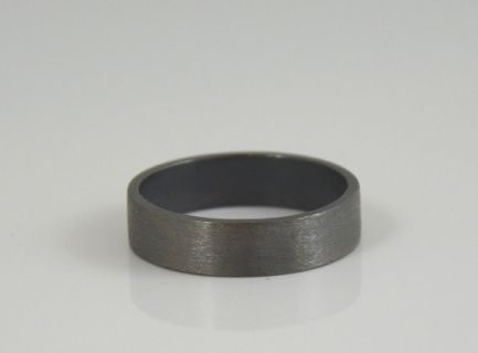 Beautiful mens wedding band - sterling silver.  www.broshop.co