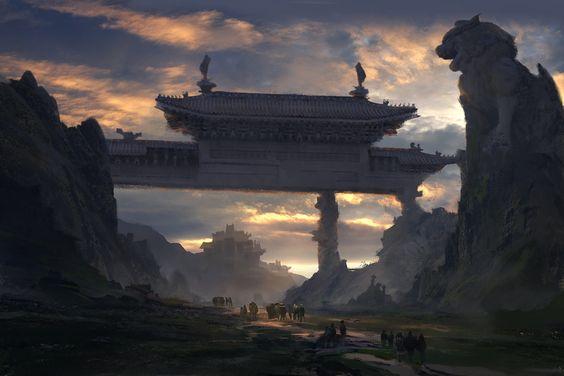 ArtStation - concept, PoZong Huang