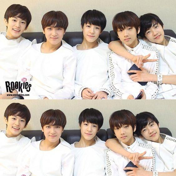 #SMRookies #Mark #Donghyuck #Jeno #Jisung #Jaemin