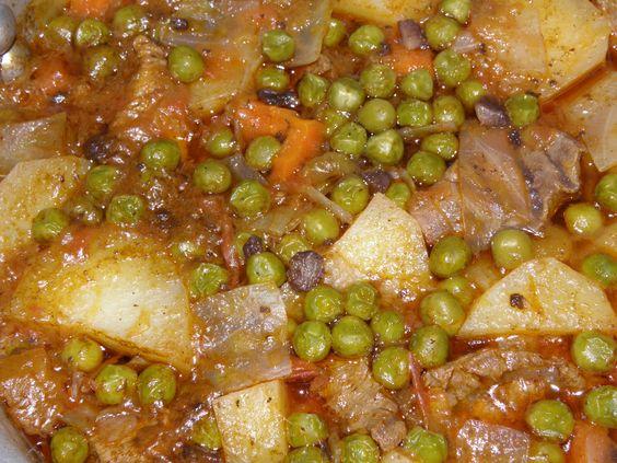 a comidinha: Jardineira de carne com legumes