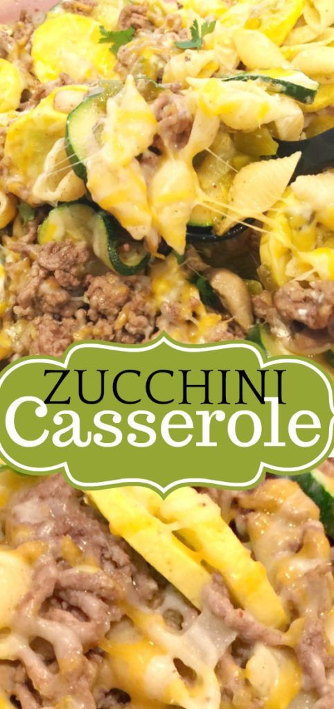 Easy Zucchini And Ground Beef Casserole Made With Zucchini Squash Ground Beef And Past Zucchini Casserole Recipes Dinner Casserole Recipes Dinner Casseroles