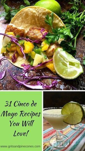 30+ Cinco de Mayo Menu Ideas and Mexican Recipes