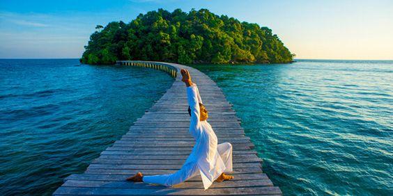 Yoga ở Song Saa