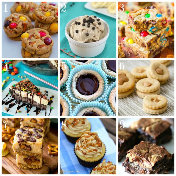 9 Easy Peanut Butter Dessert Recipes Butter Peanuts And