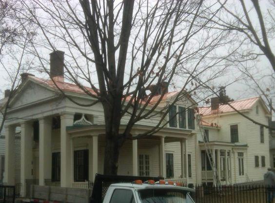 Best White Siding Copper Roof Dad S House Pinterest White 400 x 300