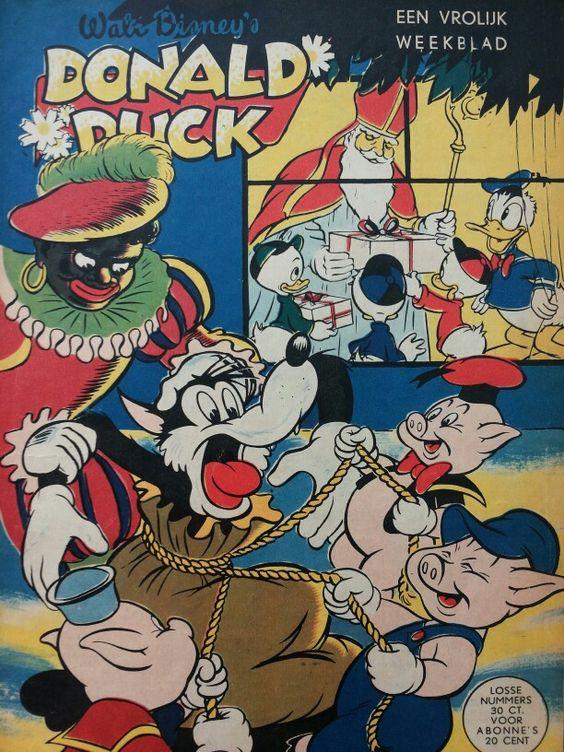 Sinterklaas 'cover' 1955