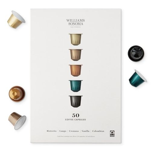 Williams Sonoma Coffee Capsules Gift Set In 2020 Coffee Capsules Coffee Gift Sets Coffee Gifts