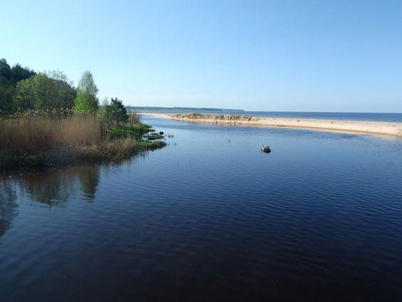 baltisches Meer im Lettland Reiseführer http://www.abenteurer.net/3687-lettland-reisefuehrer/