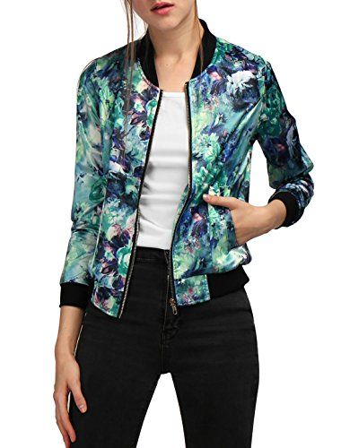 Allegra K Women Long Sleeve Stand Collar Zip Up Floral Bo... https://www.amazon.com/dp/B01M9ALN5Y/ref=cm_sw_r_pi_dp_x_ZD3Tyb4V4E513: