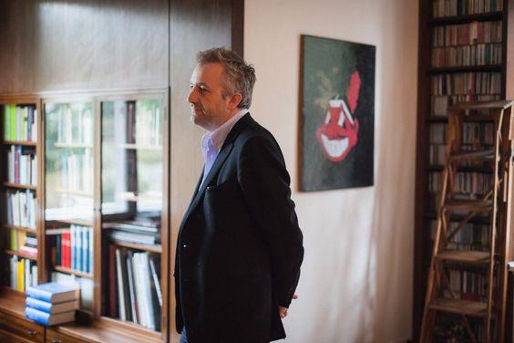 Freunde von Freunden — Jan Schmidt-Garre — Film director & Author, House & Studio, Grunewald & Mitte, Berlin — http://www.freundevonfreunden.com/de/interviews/jan-schmidt-garre/