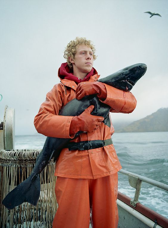 """Fish Work The Bering Sea Fotoserie von Corey Arnold"""