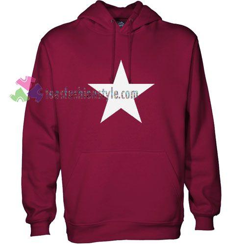 White Star Hoodie gift shirt sweater custom clothing Unisex