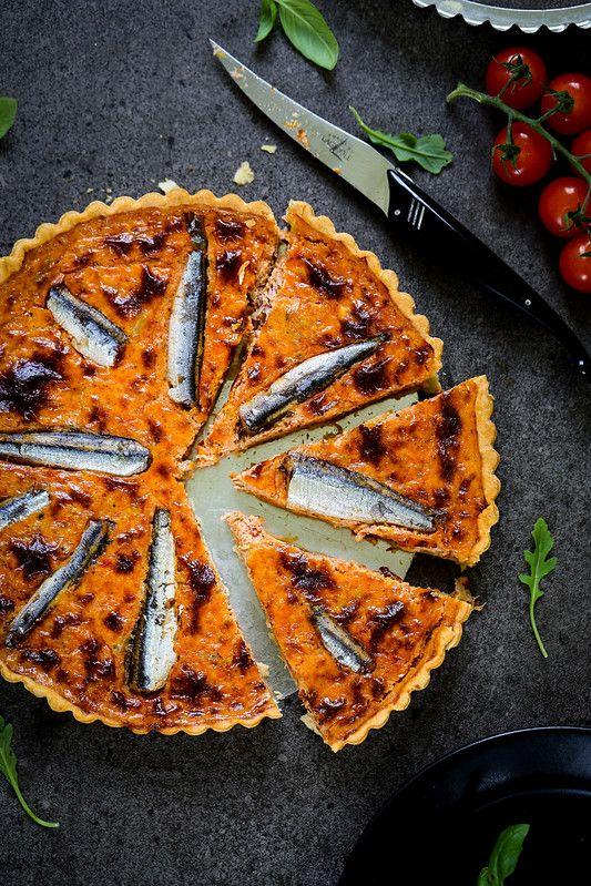 Quiche Au Thon Et Aux Sardines Recette Facile Du Placard Un Dejeuner De Soleil Recette Quiche Au Thon Recette Sardines Recettes