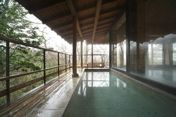 hot spring   Tonokata open-air bath Snake bone hot water Shiki no Yu Zashiki Musashino Annex