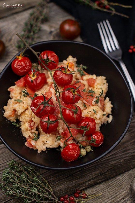 Mediterranes Blitzrisotto Mit Tomaten Rezept Mit Bildern Rezepte Tomatenreis Rezept Risotto