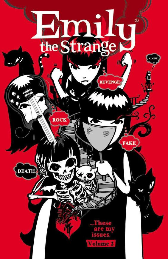 Whoever it was that told you not to talk to strangers needs to have a talk with Emily... Emily the Strange, that is. Emily knows that nothing is better than talking with strangers. In fact, the strang