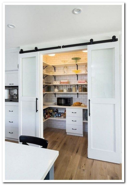 39 Mind Blowing Kitchen Pantry Design Ideas For Your Inspiration