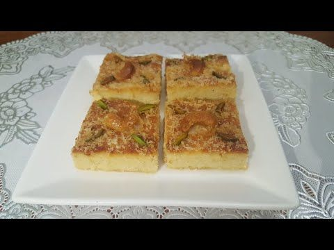 Keto Basbousa كيتو بسبوسة Keto Middle Eastern Dessert بسبوسة كيتو دايت حلويات كيتو Yo Middle Eastern Desserts Basbousa Recipe Chinese Cooking Recipes