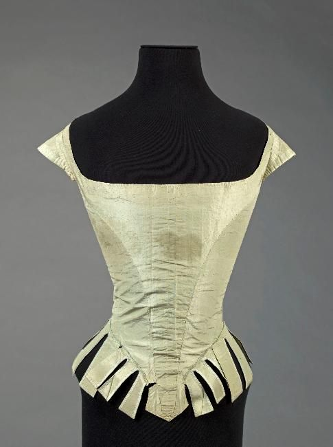 Marie Antoinette's court dress bodice ca. 1780-87: